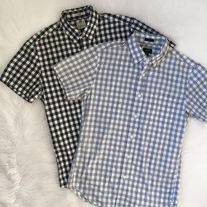 J. Crew Short Sleeve Button Down Shirt Bundle